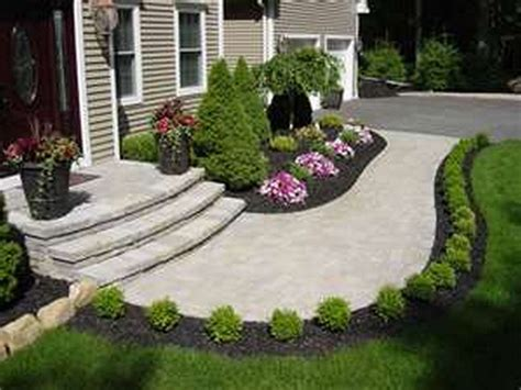 Easy Landscaping Ideas Lawn Garden Simple Front Yard by 130 Simple Fresh And Beautiful Front Yard Landscaping