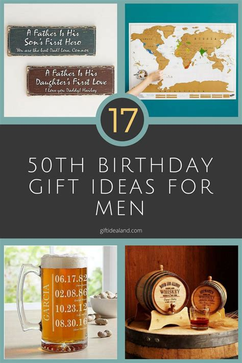 17 good 50th birthday gift ideas for him