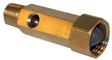 Garden Hose Inlet Filter Pressure Washer Parts Brass Garden Hose Inlet With