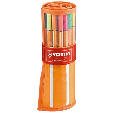 Stabilo Set 9 Warna stabilo point 88 fineliner rollerset of 30 colours cult pens