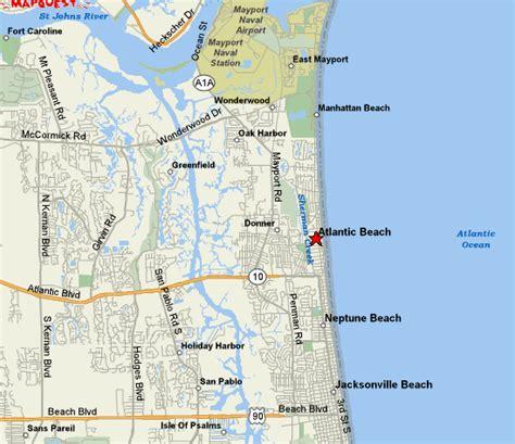 map of florida atlantic coast beaches atlantic fl maps atlantic beachfl atlantic