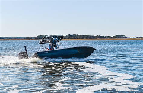 avenger bay boats avenger 24 bay boat review new sport fishing