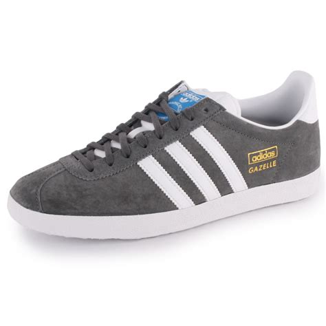 adidas gazelle og womens suede grey white trainers new shoes all sizes ebay