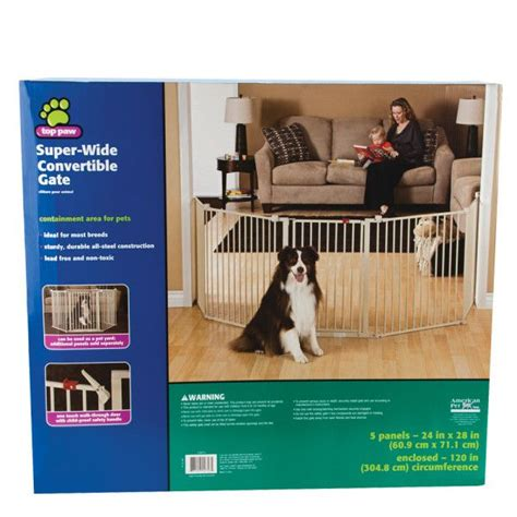 puppy gates petsmart top paw 174 wide convertible pet gate gates petsmart pet gate gracie