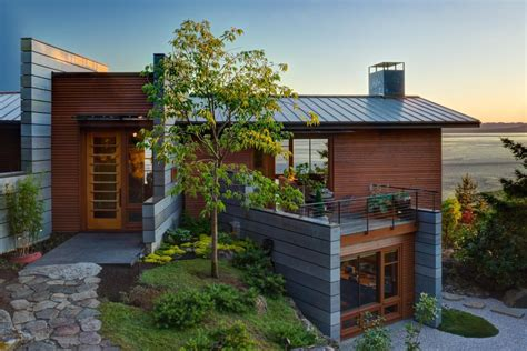 home plans washington state cliffside house on san juan island washington state home
