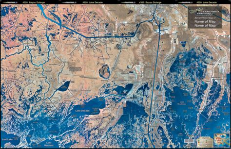 louisiana fishing map bayou dularge aerial chart la20 keith map service inc