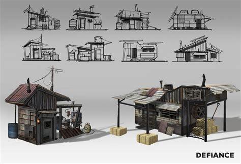 House Building Game defiance concept art by danny pak concept art world