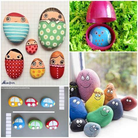 decorare bambini 7 idee per decorare i sassi con i bambini