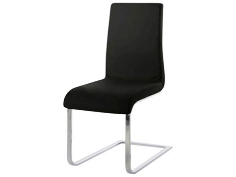 Cantilever Dining Chair Maddox Black Cantilever Dining Chair Longlands