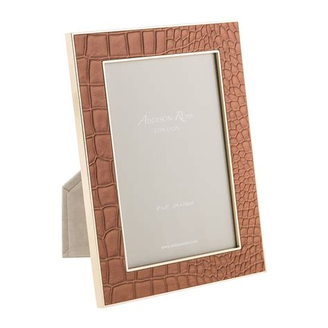 4x6 Photo Frames by Buy Ross Camel Faux Croc Photo Frame 4x6 Quot Amara