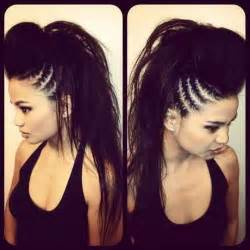 the hairstyle the swag hairstyles black long hair cornrows braids mohawk
