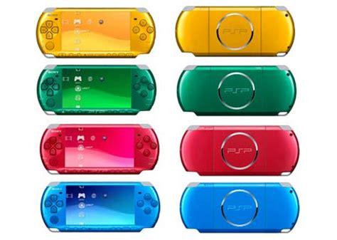 psp colors las consolas de muchos colores infantiles