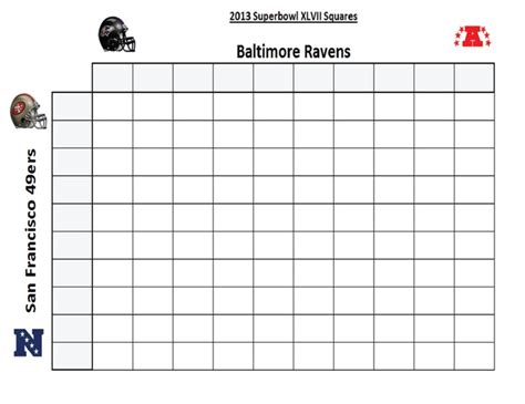 Office Football Pool Manager Bowl 2015 Squares 5 X 5 Bracket Autos Post