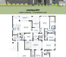 adobe style house plans home plan with courtyard likewise small further