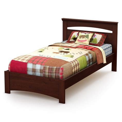 twin bed frame with headboard south shore libra twin bed set by oj commerce 184 56