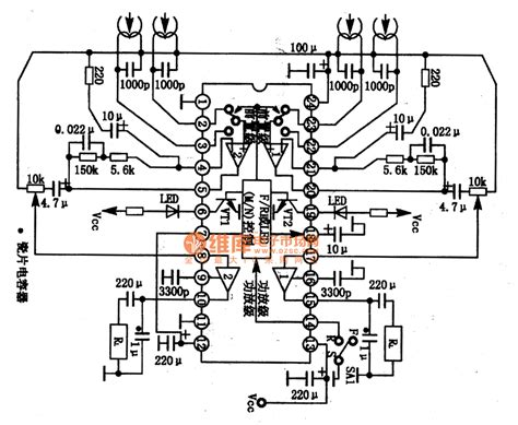 monolithic integrated circuit ta8105n monolithic stereo playback integrated circuit audio circuit circuit diagram seekic