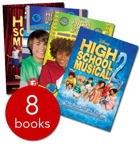 Novel High School Musical high school musical collection 8 books collection