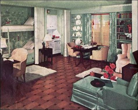 1930 home interior the living room through the ages 1920 1990