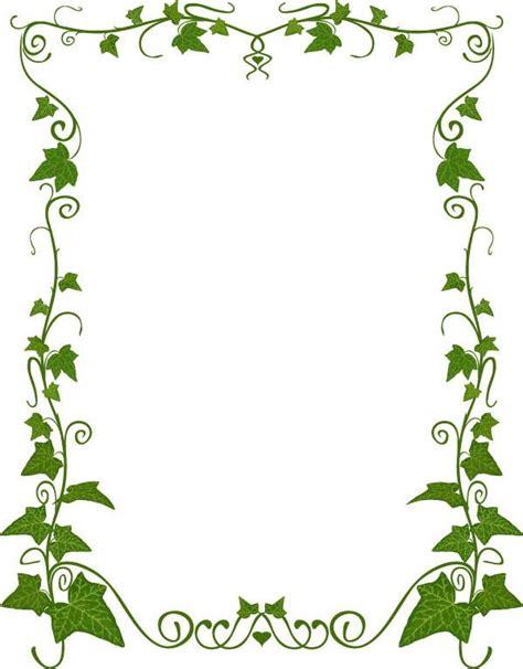 plant pattern korea style plant border pattern vector design download psd eps ai