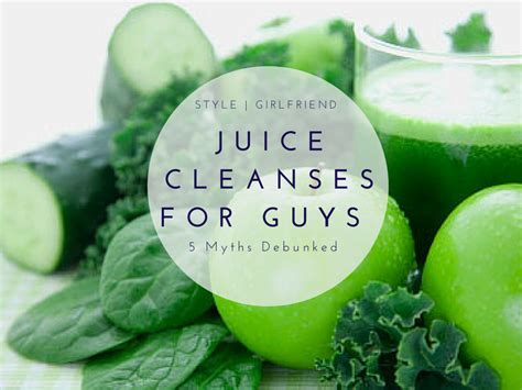 Juice Plus Detox Headache by Juice Cleanses For Guys 5 Myths Debunked Style