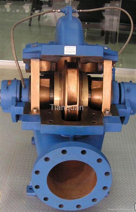 Pc Case Diy Single Stage Double Suction Split Casing Centrifugal Pump