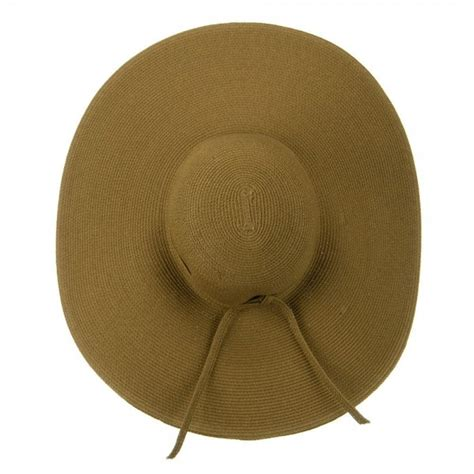 How To Make A Flat Brimmed Paper Hat - outdoor brown upf 50 cotton 6 inch brim hat e4hats
