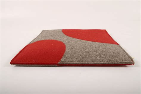 sitzkissen 40 x 40 cm grau rot manufaktur haslach