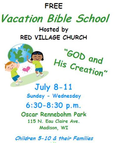 vbs flyer template vbs flyer template vacation bible school