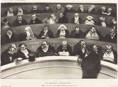 History Of The L by Honor 233 Daumier Le Ventre L 233 Gislatif The Legislative