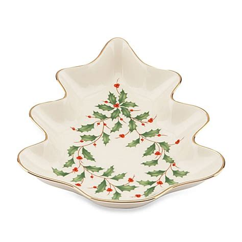 christmas tree candy dish buy lenox 174 tree dish from bed bath beyond