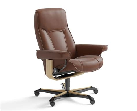 stressless poltrone stressless senator office stressless