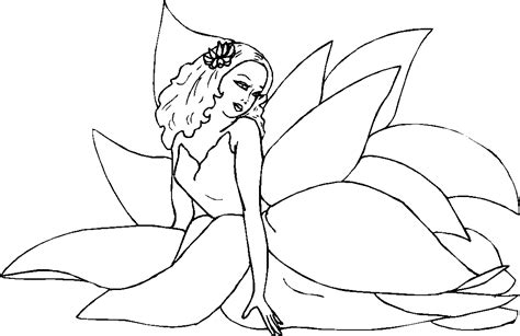 coloring pages fairies and flowers flower fairy coloring pages coloring pages