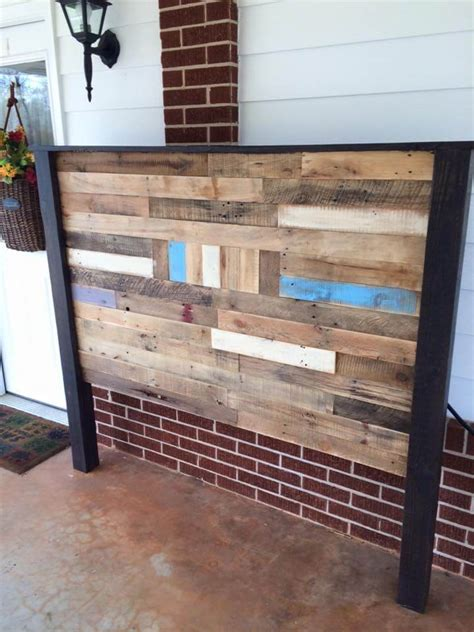 Headboards Made Of Pallets by Pallet Size Headboard 99 Pallets