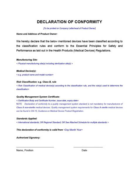 letter of conformance template 40 free certificate of conformance templates forms ᐅ