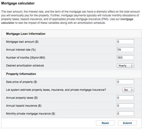 calculator yahoo yahoo launches feature heavy mortgage calculator 2015 03