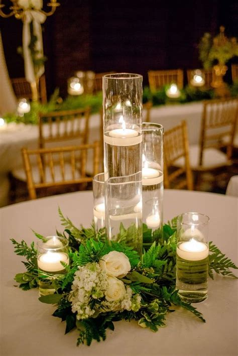 small candles for wedding tables receptions wedding and tables on pinterest