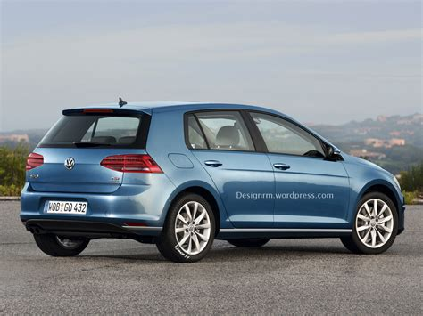 golf volkswagen vw golf facelift could debut at geneva before r420 variant