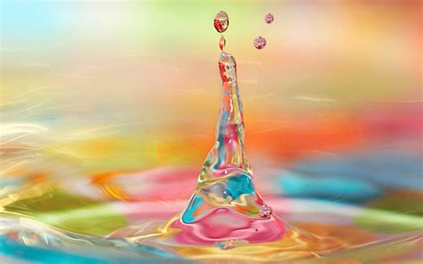 colorful water wallpaper hd colorful water drops wallpapers weneedfun