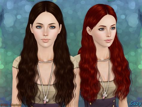sims 3 hairstyle cheats cazy s marion hairstyle set