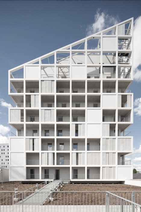 antonini darmon s housing in nantes is a patchwork of