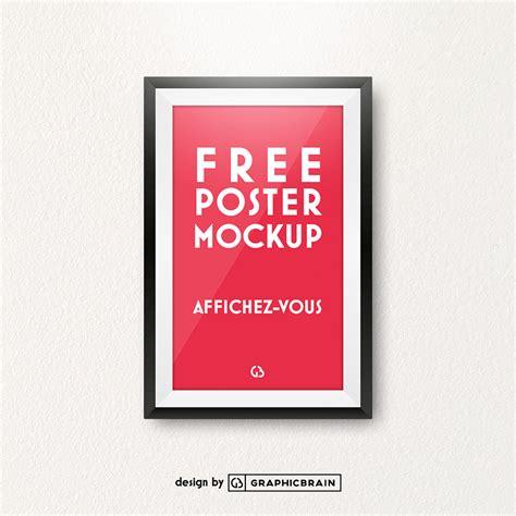 free poster mockup free design resources