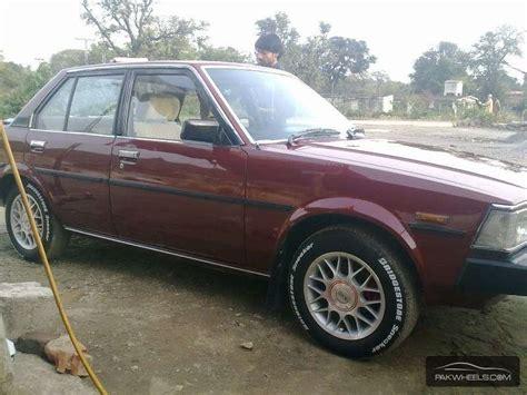 1982 Toyota Corolla For Sale Toyota Corolla Gl 1982 For Sale In Islamabad Pakwheels