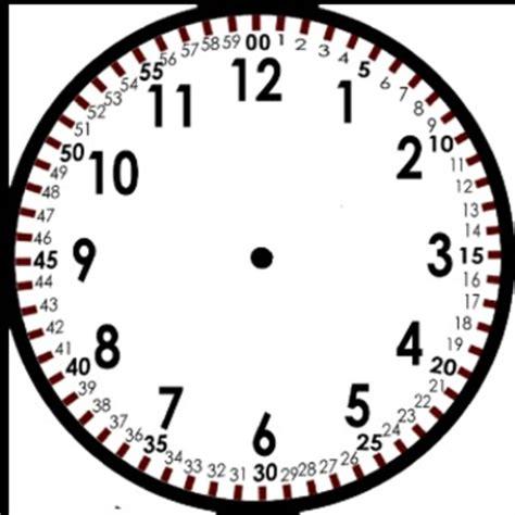 blank clock template by tchrgrl teachers pay teachers