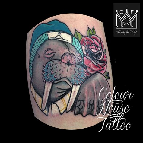 walrus tattoo walrus skull www imgkid the image kid has it