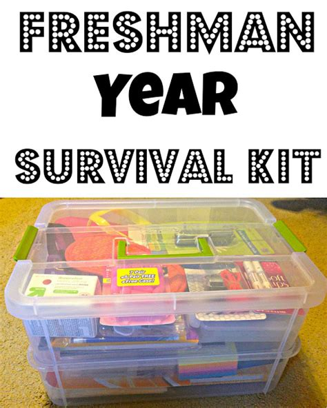 gifts for college freshmen our lives are an open freshman year survival kit