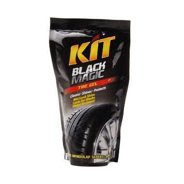 Kit Black Magic Untuk Membersihkan Dan Mengkilapkan Ban Mobil Dan Mot 1 jual kit black magic tire gel 200 ml harga kualitas terjamin blibli