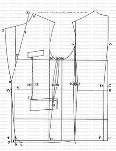 pattern drafting for female jacket 16 jacket coat block sloper pattern drafting designs