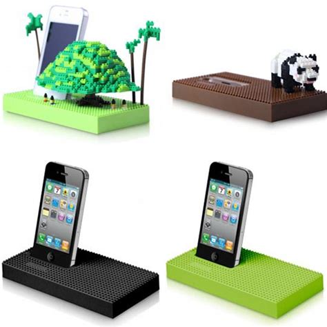 Home Charging Station Nanoblock Docking Station For Iphone And Ipod Gadgetsin