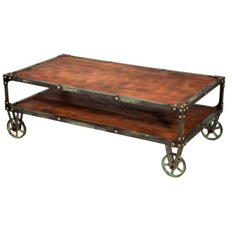 Industrial Style Coffee Table Cool Industrial Style Coffee Table Design Decor