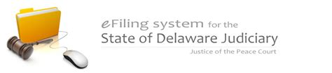 Delaware Judiciary Search Website Eflex Help Electronic Filing In The Delaware Judiciary Delaware Courts State Of